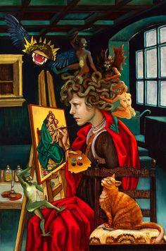 Carrie Ann Baade | The Temptation of the Penitent Medusa