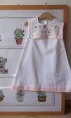 New Nini dress with cross stitch embroidery