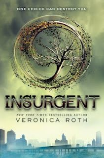 Insurgent (Divergent, Book 2)  By: Veronica Roth  Book Review   Young Adult, Dystopia, Dystopian, Fantasy, Science Fiction, Romance