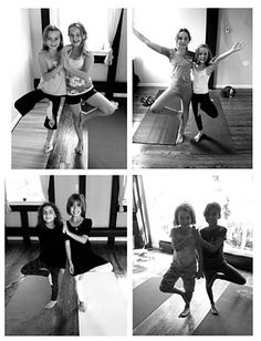 partner poses Alluem Kids: Fall with Friends & a good fall book for class too