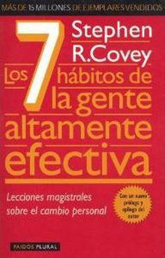 Los 10 libros de autoayuda y motivación más populares en español: Los 7 hábitos de la gente altamente efectiva