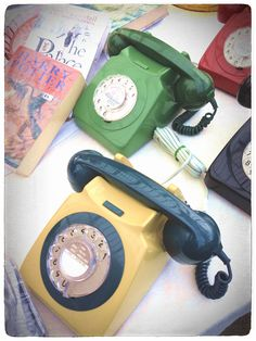 Old new phone at Tynemouth indoor market