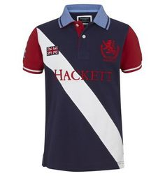 polo ralph lauren discount Hackett London The Boat Race Sash Polo Shirt Navy  http:/