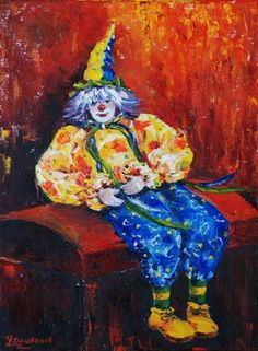 Clown by Skobeleva Liliya
