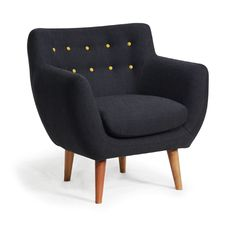 40 Retro Style Armchairs for Your Living Room Sala Vintage, Home Furniture, Furniture Design, Palette Deco, Retro Armchair, Deco Retro, Comfy Sofa, Take A Seat, Home And Deco