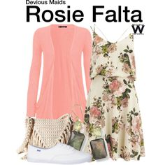 Inspired by Dania Ramirez as Rosie Falta on Devious Maids