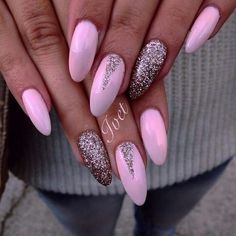 Best Summer Nail Designs & 35 Colorful Nail Ideas You Can Do It Yourself At Home New 2019 & Page 5 of 35 & clear crochet Pink Nail Art, Glitter Nail Art, Purple Nails, Matte Nails, Classy Nails, Stylish Nails, Trendy Nails, Cruise Nails, Mickey Nails
