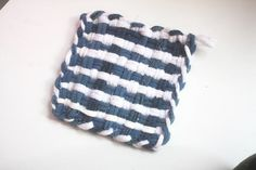 How to do a Striped Pattern Potholder : Factory Direct Craft Blog