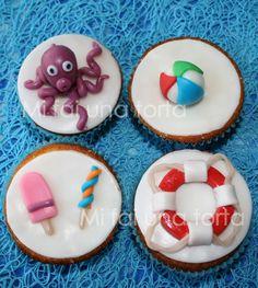 Cupcake topper - Estate