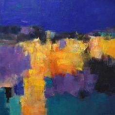 Agosto 2013-1 pintura al óleo abstracto por hiroshimatsumoto