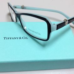 56562c9ecbd5 New for 2013 - Tiffany Co. Eyeglasses and Sunglasses. This is TF 2061 color  8055 top black blue The original Ray Ban aviator in Black