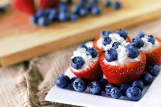 Fruit Cups with berries and whipped cream - The Fresh Fridge