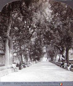 Fotos de Morelia, Michoacán, México: Calzada de Guadalupe  hacia 1909