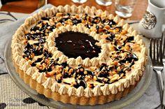 La Torta al burro di arachidi, mou e cioccolato, ricetta dolce del giorno del ringraziamento americano. Vi conquisterà.