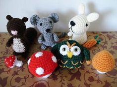 Ravelry: Amigurumi Wood Animals 1 pattern by Jana Ganseforth