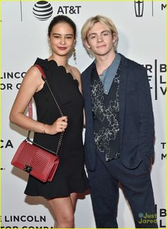 Ross Lynch Brings Courtney Eaton To 'My Friend Dahmer' Tribeca Premiere: Photo How cute do Ross Lynch and Courtney Eaton look at the My Friend Dahmer premiere? The longtime couple hit the red carpet together for the premiere for Ross' newest… Courtney Eaton, Jacob Sartorius, Ross Lynch, Celebrity Look, My Crush, Chanel Boy Bag, My Friend, Bring It On, Celebrities