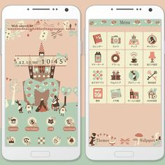 """Alice's Pastel Castle"" 12/22 This cute and simplistic theme features pastel colors in Wonderland! http://app.android.atm-plushome.com/app.php/app/themeDetail?material_id=1376&rf=pinterest #cute #wallpaper #love #kawaii #design #icon #girl #style #beautiful #plushome #homescreen #widget #deco #alice"