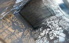 Detalle interior estación tranvia.  Diseño Arq. Miguel Echauri y Arq. Álvaro Morales.  www.echaurimorales.com