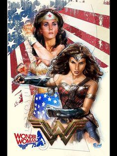 WW Wonder Woman Pictures, Wonder Woman Art, Wonder Woman Comic, Marvel Comics, Marvel Vs, Captain Marvel, Lynda Carter, Aquaman, Gal Gabot