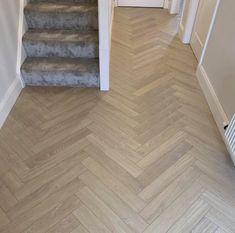 Wood, Beautiful Flooring, Wood Floors, Real Oak Wood Flooring, Oak Laminate, Herringbone, Herringbone Floor, Flooring, Wood Laminate