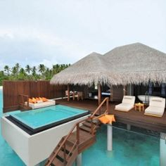 Ayada Maldives is a luxurious tropical resort on the island of Maguhdhuvaa.