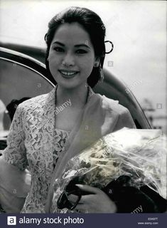 Download this stock image: Oct. 10, 1965 - President Sukarno Still in Power: Photo shows President Sukarno's third wife Ratna who is said to be with - E0X97T from Alamy's library of millions of high resolution stock photos, illustrations and vectors.