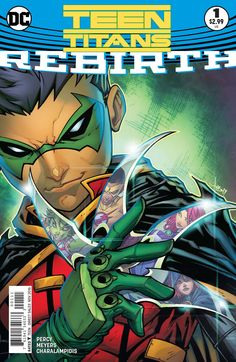 DC COMICS (W) Ben Percy (A/CA) Jonboy Meyers The Teen Titans are farther apart than ever before...until Damian Wayne recruits Starfire, Raven, Beast Boy and the new Kid Flash to join him in a fight ag