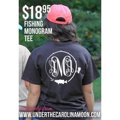 Fish and Hook Monogram