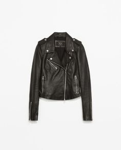 LEATHER BIKER JACKET | ZARA United, How would you style this? http://keep.com/leather-biker-jacket-trf-outerwear-woman-zara-united-by-emily_wargo/k/1J42BDgBGd/