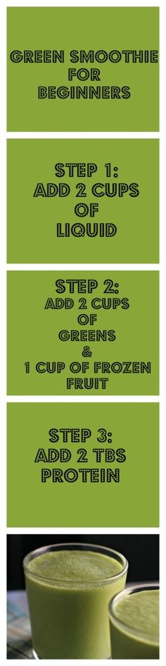 Green Smoothie for Beginners ~vegan~ A no-fail recipe!