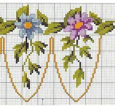 cross stitch flowers and frame border - free cross stitch patterns crochet knitting amigurumi Cross Stitch Fairy, Cross Stitch Heart, Cross Stitch Borders, Cross Stitch Flowers, Cross Stitch Designs, Cross Stitching, Cross Stitch Patterns, Hardanger Embroidery, Cross Stitch Embroidery