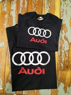 Isälle ja juniorille paidat samaa maata. Audi, T Shirt, Tops, Women, Fashion, Tee, Moda, Women's, La Mode