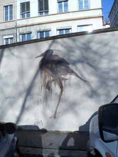 Galerie virtuelle du street art à Lyon | Lyon visite - Itinéraires et guides pour visiter Vieux Lyon, traboules, Croix-Rousse, murs peints, etc.