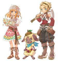 Rune Factory 3 I love this game!