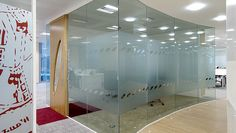 conference room (Do we make the conference room with wall walls...glass walls?)