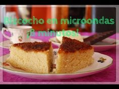 Bizcocho en el microondas en 8 minutos/ 8 minutes microwave cake Microwave Recipes, Cooking Recipes, No Bake Desserts, Banana Bread, Cake Recipes, Cheesecake, Food And Drink, Yummy Food, Breakfast