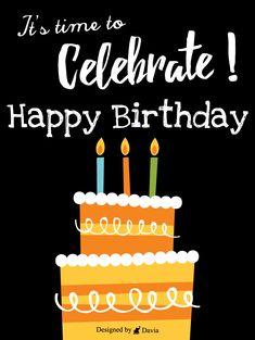 Birthday Love, Birthday Board, Birthday Quotes, It's Your Birthday, Happy Birthday Greetings, Birthday Greeting Cards, Happy B Day Cards, Birthday Reminder, Birthday Calendar