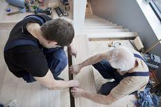Trapp på plass   Lerkefunkis Master Room, Basement, Decor, Garden Ideas, Stairs, Loft, Inspiration, Stair Design, Staircases