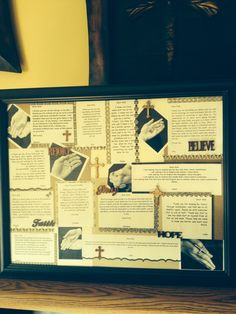 """7th Grade Auction project """"Letters to God"""""""