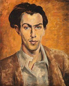 Self-Portrait (c.1940) by Robert Colquhoun (Scottish 1914-1962)