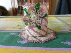 vase de 14 cm avec son napperon