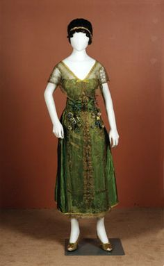 Lucile Ltd. evening dress ca. 1918-20  From National Museums Scotland