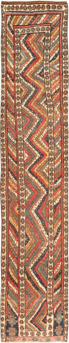 Antique Kurdish Runner Rug 47143 Main Image - By Nazmiyal