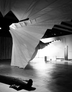 Move: Choreographing You exhibition design  by Amanda Levete Architects