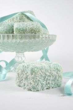 Minty coconut sweets
