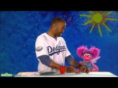 Sesame Street: Matt Kemp and Abby - Attach