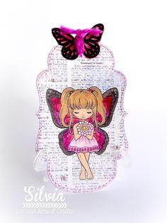 Latinas Arts and Crafts: Reto 63 Marcapaginas + mariposas