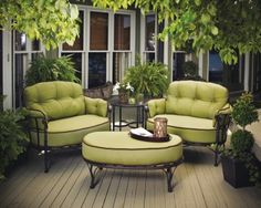 Shop this meadowcraft athens deep seating wrought iron cuddle lounge set from our top selling Meadowcraft lounge sets. PatioLiving is your premier online showroom for patio lounge and high-end outdoor furniture. Outdoor Decor, Wrought Iron Patio Furniture, Terrace Furniture, Porch Furniture, Deck Furniture, Conversation Set Patio, Iron Patio Furniture, Meadowcraft, Pallet Furniture Outdoor