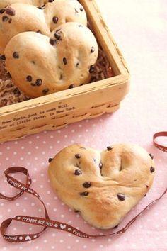 Valentine's Day chocolate bread