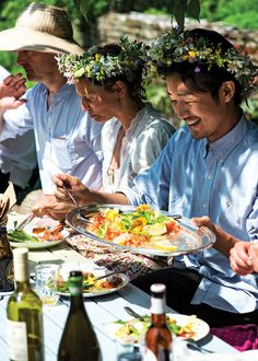 Swedish midsommar celebration  - article from Saveur